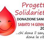 Donazione Sangue 14 Gennaio 2017